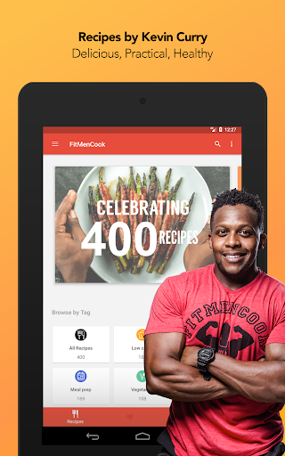 Screenshot for FitMenCook - Healthy Recipes in United States Play Store