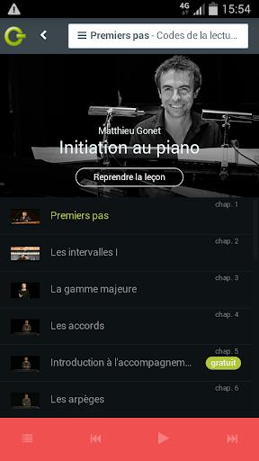 Cours de Musique & Masterclass  screenshots 1