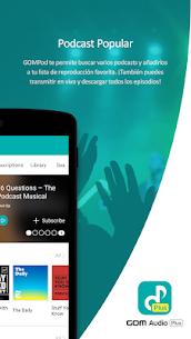 GOM Audio Plus: Música, sincronización de letras 5