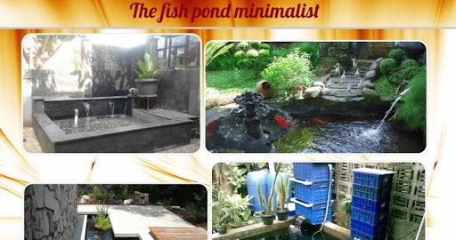 ミニマリストの庭の池