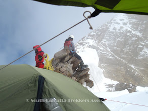 Photo: Camp-III / Summit Camp on the Col (19,121 ft)