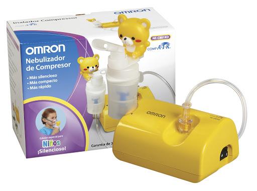 Nebulizador Compresor Infantil Comair Omron 1 Unidad Nebulizador Infantil