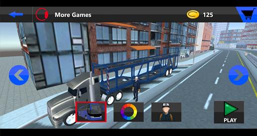 無料模拟Appのビッグ自動車輸送トラックの3D|記事Game
