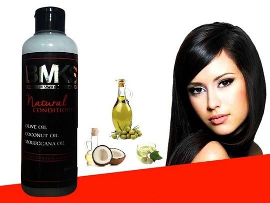 Conditioner BMKS Kemiri penumbuh rambut mengatasi ketombe kebotakan rambut rontok bercabang kusam