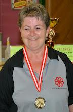 Photo: Senioren Einzel Damen – 2. Platz Edith Lockinger