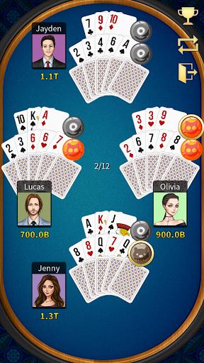 13 Poker - KK Pusoy (PvP) Offline not Online android2mod screenshots 7