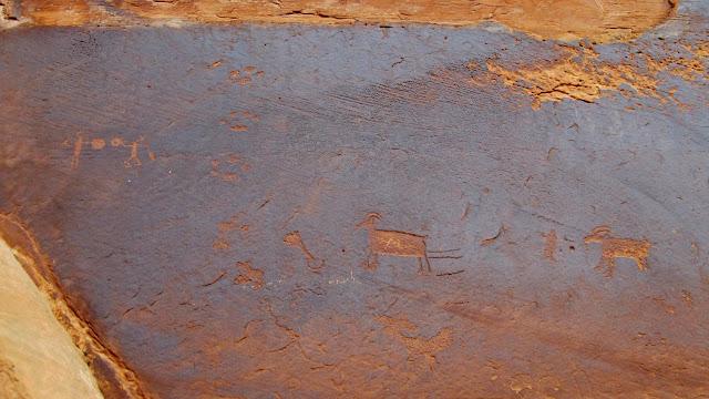 Poison Spring Canyon petroglyphs