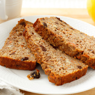 Carrot Quinoa Breakfast Bread.