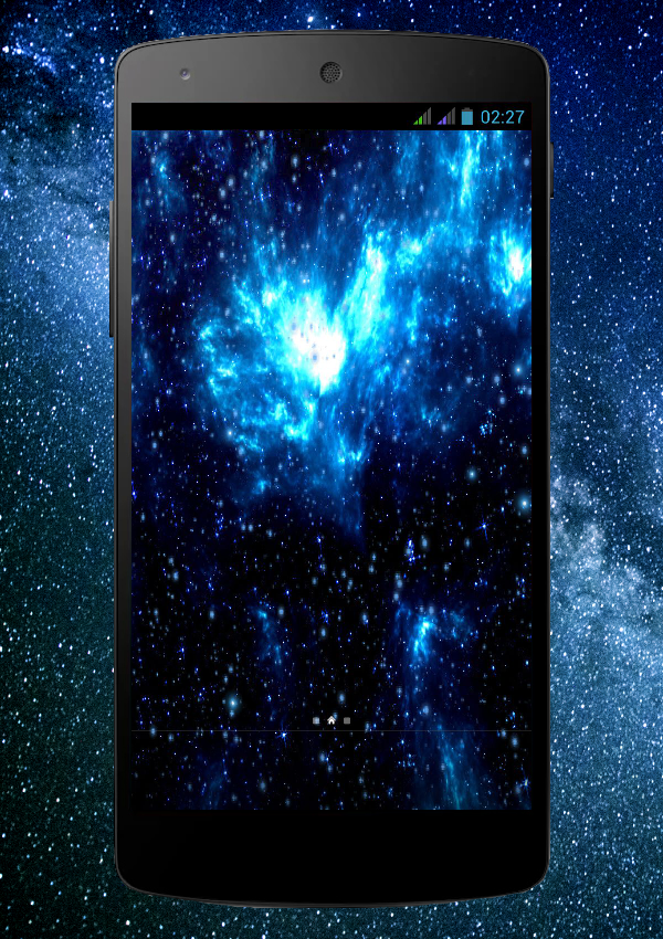 Space Pro Live Wallpaper Screenshot