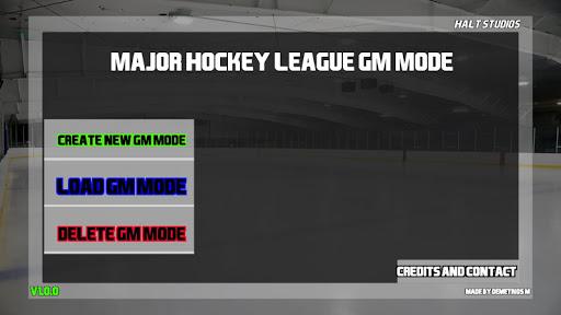 Major Hockey League GM Simulator  screenshots 1