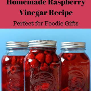 Easy Raspberry Vinegar