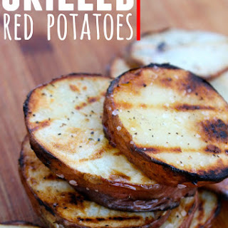 Grilled Red Potatoes.