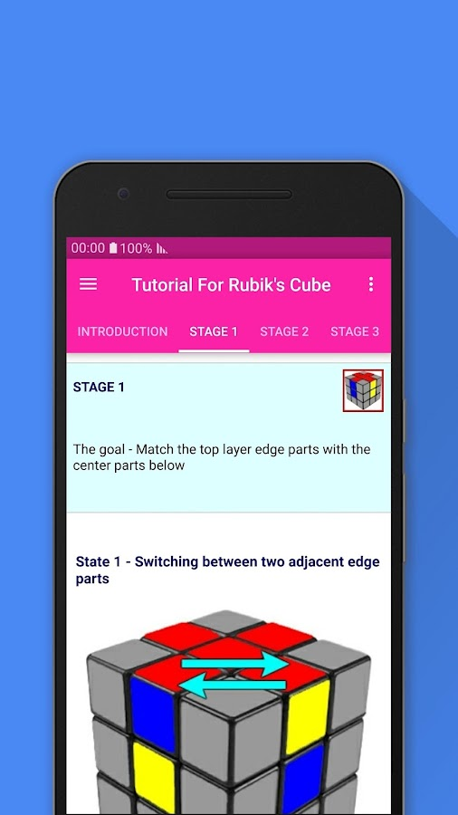 Tutorial For Rubik's Cube- screenshot