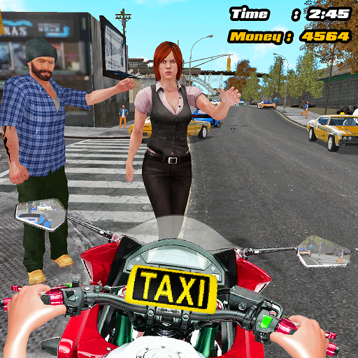 Motorbike Taxi Driver Android APK Download Free By ActionCrab Games