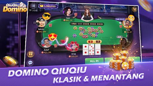 2021 Domino Qiuqiu Domino 99 Poker Game Online Pc Android App Download Latest