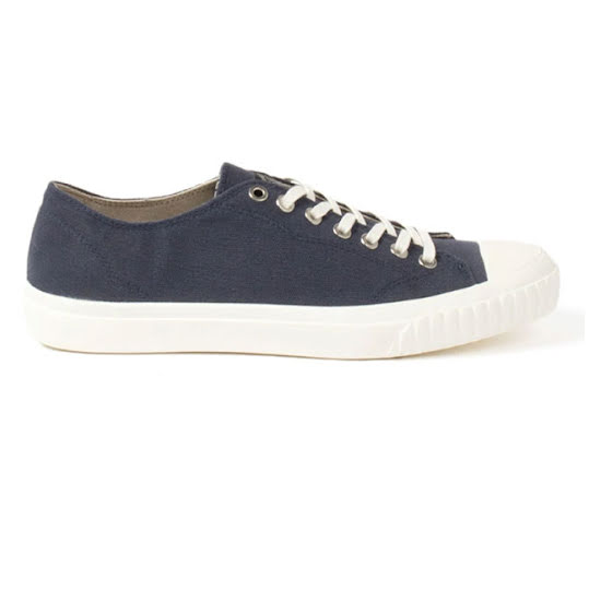 Sneaky Steve Swing Low Canvas Herr Navy Stl: 41