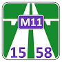 M11 15–58 Fare calculator APK icon