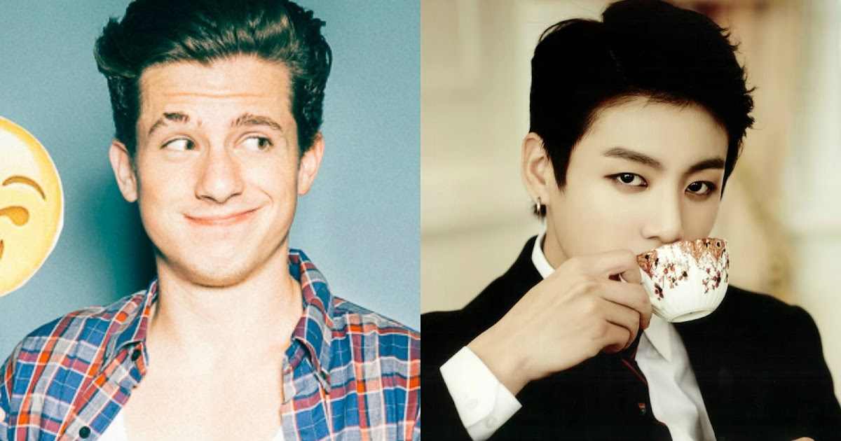 Charlie Puth Begins Following Bts Jungkook After Liking His Cover
