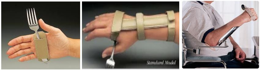 wrist support splin for spinal cord injury patients