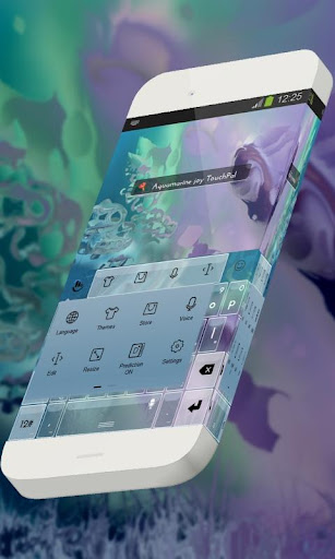 玩免費個人化APP|下載海藍寶石的喜悅 TouchPal app不用錢|硬是要APP