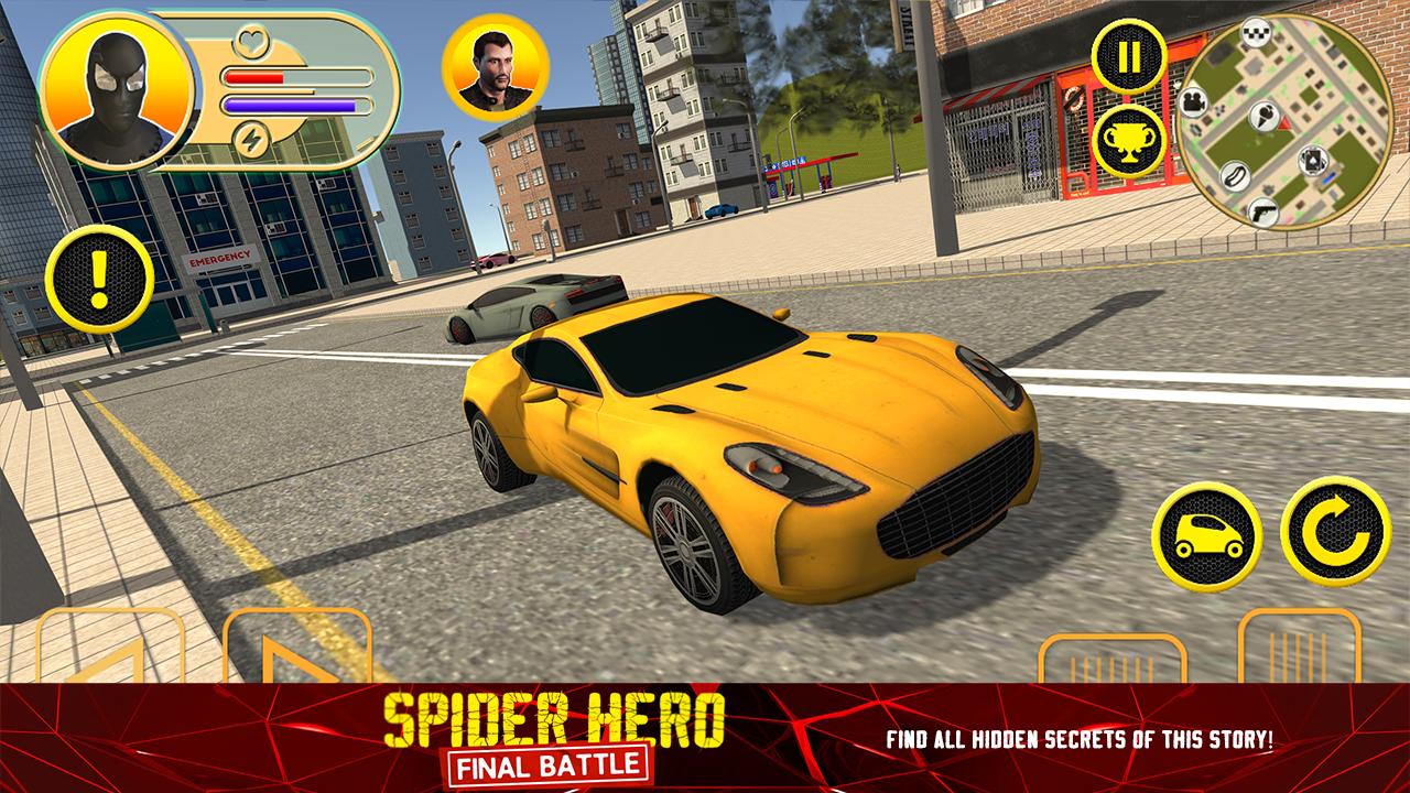 Spider Hero: Final Battle v1.0.0 APK+DATA MOD
