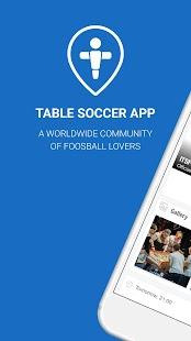 Table Soccer App - náhled