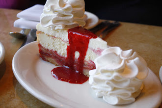 Photo: The Cheesecake Factoryn suussa sulava juustokakku