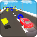 Twisty Color Car Road Game
