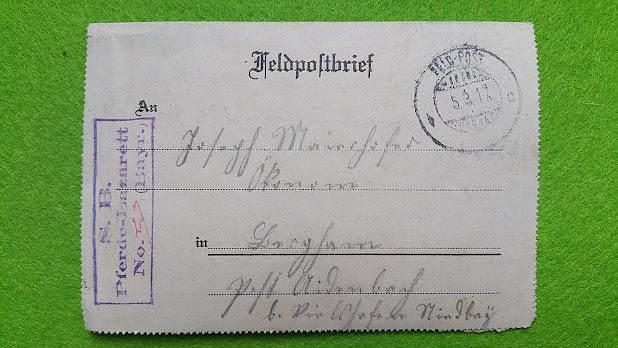 Feldpostbrief 5.3.1912