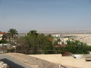 Photo: Looking at Jericho from the south –west…מבט אל יריחו מדרום מערב