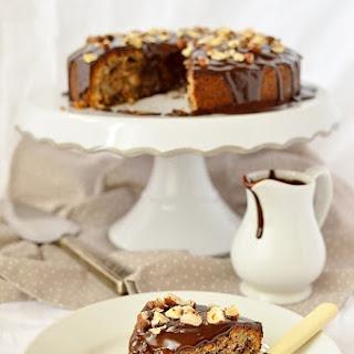 Dark Chocolate, Pear And Hazelnut Cake