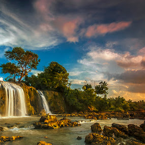 waterfall..... by RIO DJOENED - Landscapes Waterscapes