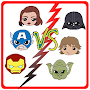 How to draw Avengers VS Star Wars APK icon