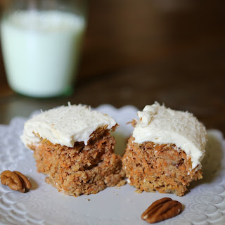 Candida Diet Carrot Cake with Cream Cheese Icing