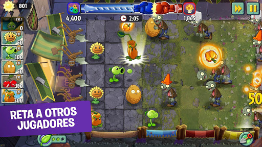 Plants vs Zombies 2 Free  trampa 10