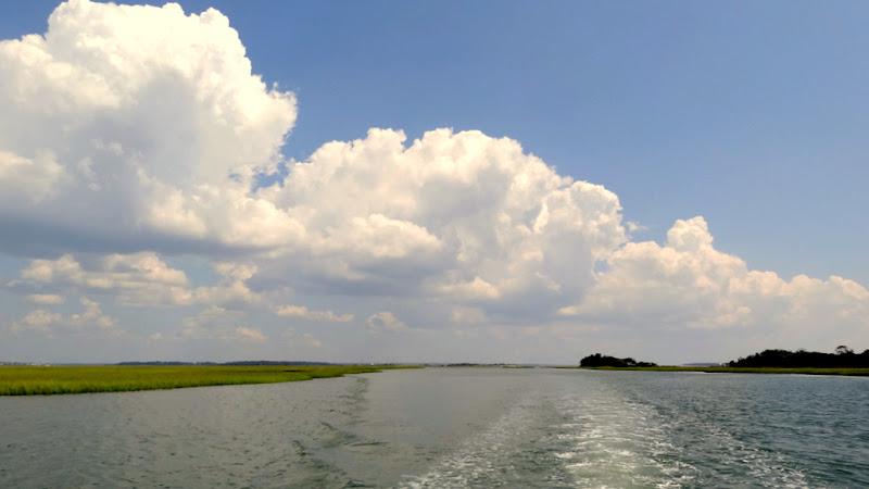 Photo: Looking east behind Bear Island