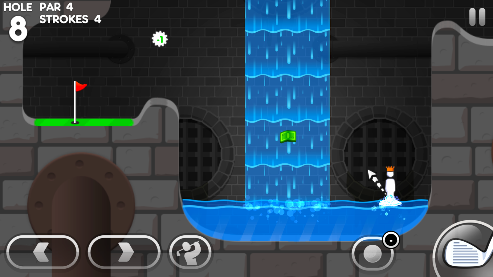 Super Stickman Golf 3- screenshot