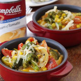 Cheesy Vegetable Casserole.