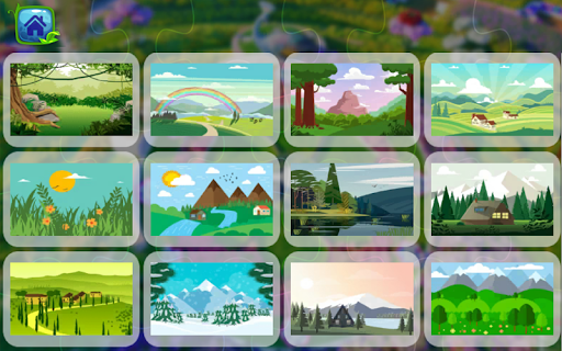 Landscape Garden Nature Puzzle  screenshots 1