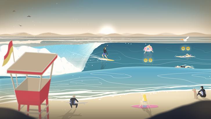 Go Surf - The Endless Wave screenshot