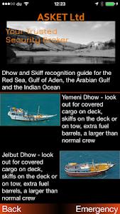 ASKET Maritime Security App screenshot 2