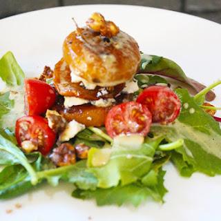 Stacked Roasted Beet Salad with Gorgonzola and Lemon Vinaigrette