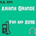 Ariana Grande Fan App icon