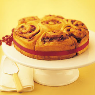 Ginger Lemon and Cranberry Rolls