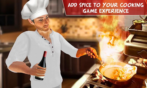 Virtual Chef Cooking Game 3D: Super Chef Kitchen apkdebit screenshots 6