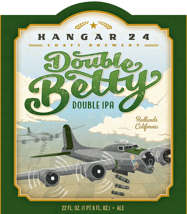 Logo of Hangar 24 Double Betty IPA