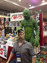 Photo: The Creature took a disliking to Ed.