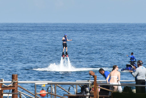 Flyboarding in Puerto Vallarta.jpg - Flyboarding at Las Caletas beach near Puerto Vallarta.