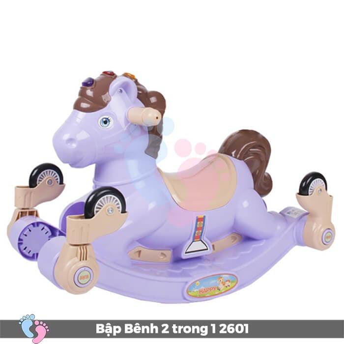 Xe chòi chân bập bênh hình ngựa 2601 1