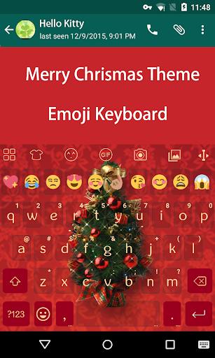Christmas Tree Emoji Keyboard